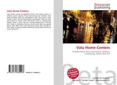 Bookcover of Valu Home Centers