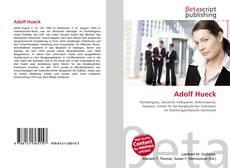Bookcover of Adolf Hueck