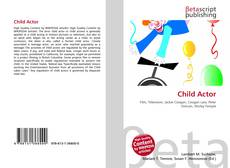 Bookcover of Child Actor