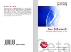 Borítókép a  Ruler X (Rio Azul) - hoz