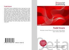 Buchcover von Todd Snare