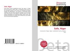 Bookcover of Safo, Niger