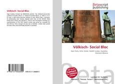 Buchcover von Völkisch- Social Bloc