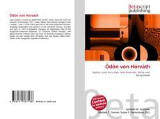 Ödön von Horváth kitap kapağı