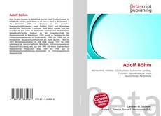 Capa do livro de Adolf Böhm