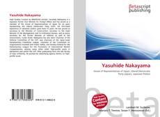 Bookcover of Yasuhide Nakayama