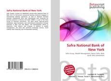 Buchcover von Safra National Bank of New York