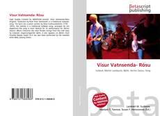 Bookcover of Vísur Vatnsenda- Rósu