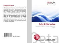Buchcover von Rule Utilitarianism