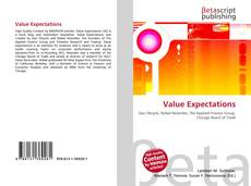 Bookcover of Value Expectations