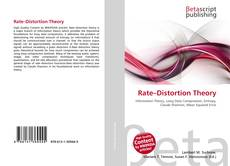 Bookcover of Rate–Distortion Theory
