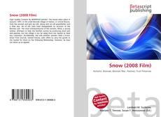 Borítókép a  Snow (2008 Film) - hoz