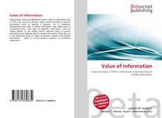 Bookcover of Value of Information