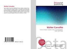 Borítókép a  Walter Carvalho - hoz