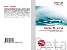 Bookcover of Ratner's Theorems