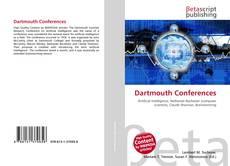 Bookcover of Dartmouth Conferences
