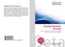 Rayleigh Quotient Iteration kitap kapağı