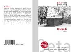 Buchcover von Odobeşti