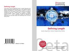 Bookcover of Defining Length