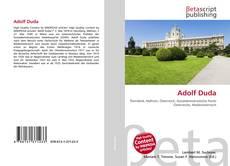Buchcover von Adolf Duda
