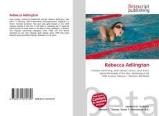 Bookcover of Rebecca Adlington