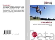 Capa do livro de Vítor Oliveira