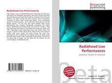 Обложка Radiohead Live Performances