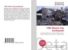 Copertina di 1985 Mexico City Earthquake