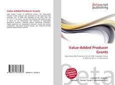Capa do livro de Value-Added Producer Grants