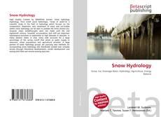 Snow Hydrology kitap kapağı