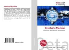 Bookcover of Helmholtz Machine