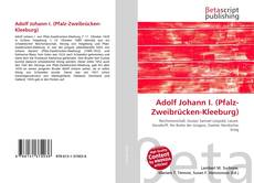 Bookcover of Adolf Johann I. (Pfalz-Zweibrücken-Kleeburg)