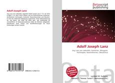 Обложка Adolf Joseph Lanz