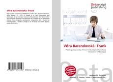 Bookcover of Věra Barandovská- Frank