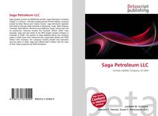 Bookcover of Saga Petroleum LLC