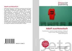 Couverture de Adolf Juschkewitsch