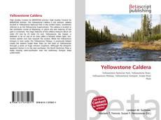 Capa do livro de Yellowstone Caldera
