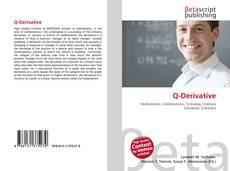 Bookcover of Q-Derivative