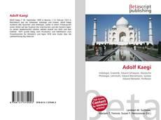 Bookcover of Adolf Kaegi