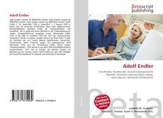 Adolf Endler kitap kapağı