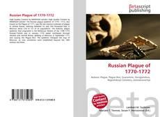 Обложка Russian Plague of 1770-1772