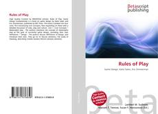 Bookcover of Rules of Play