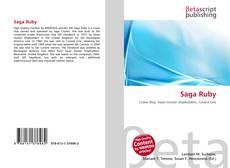 Couverture de Saga Ruby