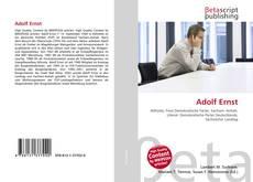 Bookcover of Adolf Ernst