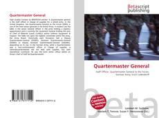 Copertina di Quartermaster General