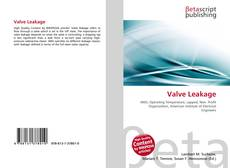 Bookcover of Valve Leakage
