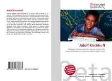 Portada del libro de Adolf Kirchhoff
