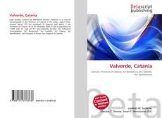 Bookcover of Valverde, Catania