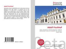 Bookcover of Adolf Fischhof