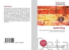 Bookcover of Adolf Kling